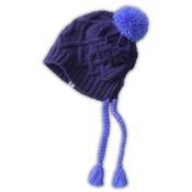 The North Face Flecka Earflap Womens Hat, Garnet Purple-Starry Purple, medium
