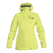 Dakine Kaitlin Womens Insulated Ski Jacket, Sunnylime, medium