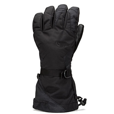 The North Face Montana ETip Womens Gloves, TNF White-TNF Black, viewer