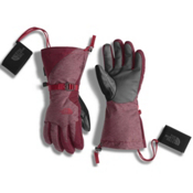 The North Face Montana ETip Womens Gloves, Deep Garnet Red-Biking Red, medium