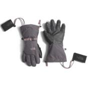 The North Face Montana ETip Womens Gloves, Rabbit Grey-Quail Grey, medium
