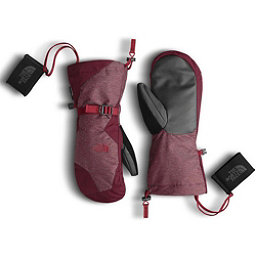 The North Face Womens Montana Mitt, Deep Garnet Red-Biking Red, 256