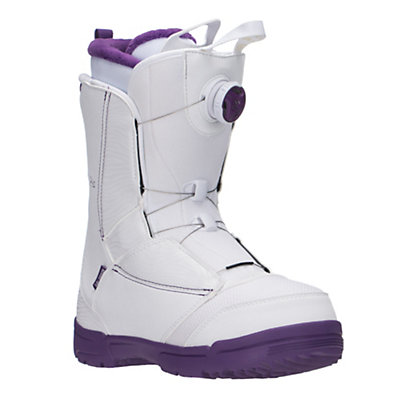 Salomon Pearl Boa Womens Snowboard Boots, White, viewer
