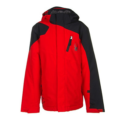Spyder Guard Boys Ski Jacket (Previous Season), , viewer