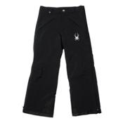 Spyder Force Kids Ski Pants, Black-Black, medium