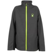Spyder Core Constant Full Zip Kids Sweater, Polar-Bryte Yellow, medium