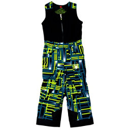 Spyder Mini Expedition Toddler Boys Ski Pants (Previous Season), Theory Green Routed Print-Theory Green Routed Print, 256