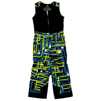 Spyder Mini Expedition Toddlers Ski Pants (Previous Season), Volcano Routed Print-Volcano R, viewer