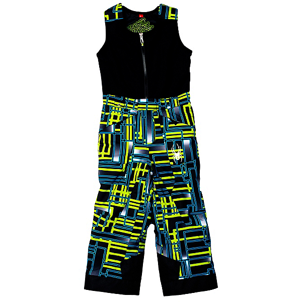 Spyder Mini Expedition Toddler Boys Ski Pants (Previous Season), Theory Green Routed Print-Theory Green Routed Print, 600