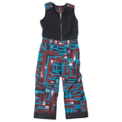 Spyder Mini Expedition Toddlers Ski Pants, Volcano Routed Print-Volcano R, medium