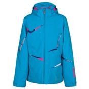 Spyder Tresh Girls Ski Jacket, Riviera-Bryte Bubblegum-Evening, medium