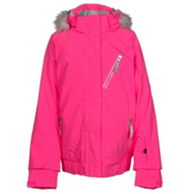 Spyder Lola Girls Ski Jacket, Bryte Bubblegum-Bryte Bubblegum, medium
