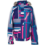 Spyder Lola Girls Ski Jacket, Evening Vybe Print-Bryte Bubblegum, medium