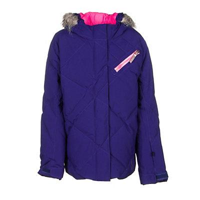 Spyder Hottie Girls Ski Jacket (Previous Season), White-Multi, viewer