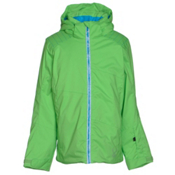 Spyder Glam Girls Ski Jacket, Green Flash-Riviera-Riviera Di, medium