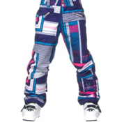 Spyder Vixen Athletic Girls Ski Pants, Evening Vybe Print, medium