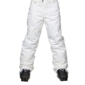 Spyder Mimi Girls Ski Pants, White, medium