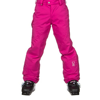 Spyder Mimi Girls Ski Pants (Previous Season), White, viewer
