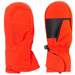 Spyder Mini Cubby Toddlers Mittens (Previous Season), Volcano-Black, 256