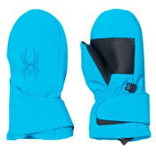 Spyder Mini Cubby Toddlers Mittens, Electric Blue-Black, medium
