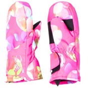 Spyder Bitsy Cubby Toddlers Mittens, Bryte Bubblegum Focus Print, medium