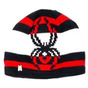 Spyder Mission Kids Hat, Black-Volcano-White, medium