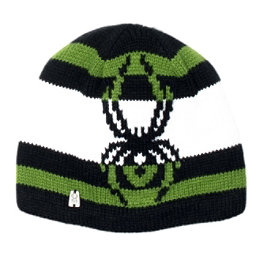 Spyder Mission Kids Hat (Previous Season), Black-Mountain Top-White, 256