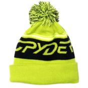 Spyder Icebox Kids Hat, Theory Green-Black-Bryte Yellow, medium
