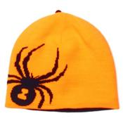 Spyder Reversible Bug Kids Hat, Bryte Orange-Black, medium