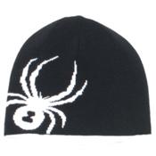 Spyder Reversible Bug Kids Hat, Black-White, medium
