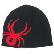 Spyder Reversible Bug Kids Hat, Black-Volcano, medium