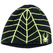 Spyder Mini Web Toddlers Hat, Black-Bryte Yellow, medium