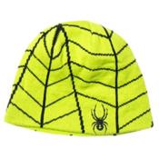 Spyder Mini Web Toddlers Hat, Theory Green-Black, medium