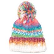 Spyder Twisty Kids Hat, White-Multi, medium