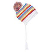 Spyder Bittersweet Kids Hat, White-Multi, medium