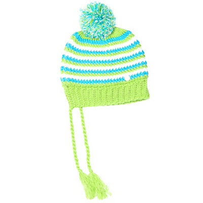 Spyder Bittersweet Kids Hat (Previous Season), White-Multi, viewer