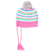 Spyder Bittersweet Kids Hat (Previous Season), Bryte Bubblegum-Multi, medium