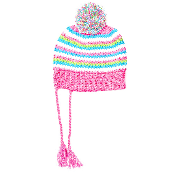 Spyder Bittersweet Kids Hat (Previous Season), Bryte Bubblegum-Multi, 600