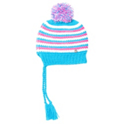 Spyder Bittersweet Kids Hat (Previous Season), Riviera-White-Bryte Bubblegum, medium