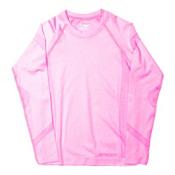 Spyder Cheer Girls Long Underwear Top, Bryte Bubblegum, medium