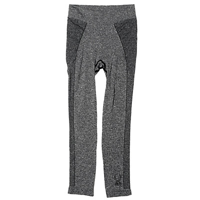 Spyder Cheer Girls Long Underwear Bottom (Previous Season), Black, viewer