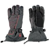 Spyder Overweb Gore-Tex Gloves, Black-Volcano, medium