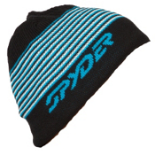 Spyder Upslope Hat, Black-Electric Blue-White, medium
