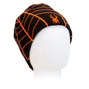 Spyder Web Hat, Black-Bryte Orange, medium