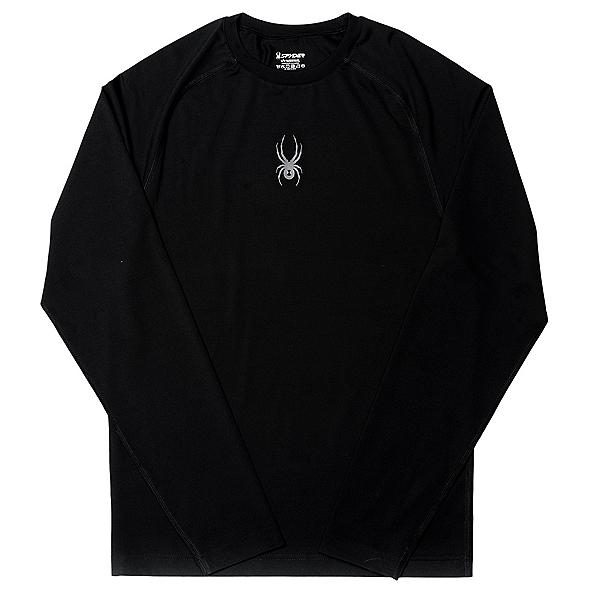 Spyder Freestyler Mens Long Underwear Top (Previous Season), Black-Polar, 600