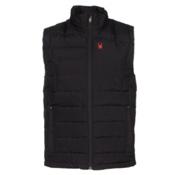 Spyder Dolomite Down Mens Vest, Black-Volcano, medium