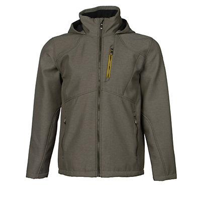 Spyder Patsch Novelty Mens Soft Shell Jacket (Previous Season), Polar-Bryte Orange, viewer