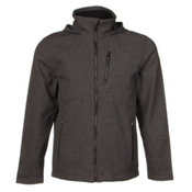 Spyder Patsch Novelty Soft Shell Jacket, Polar-Black, medium