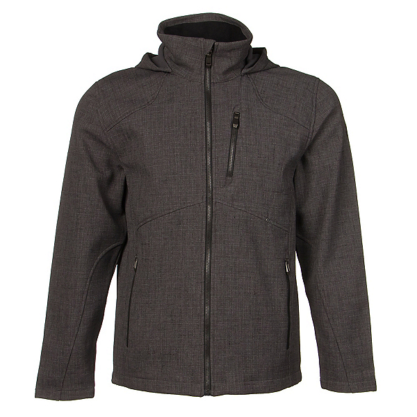 Spyder Patsch Novelty Mens Soft Shell Jacket (Previous Season), Polar-Black, 600