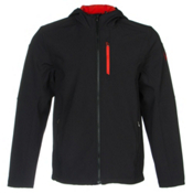 Spyder Patsch Soft Shell Jacket, Black-Volcano, medium